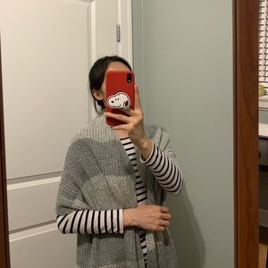 grey scarf from korea 10/10 condition